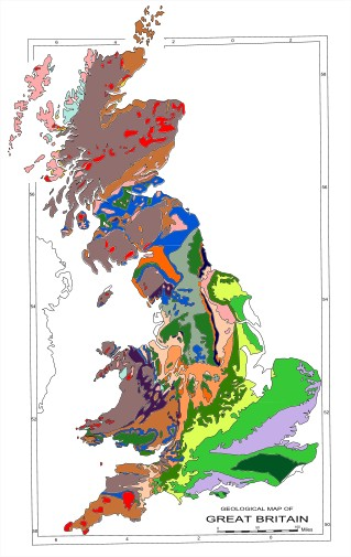 UK Geology Map