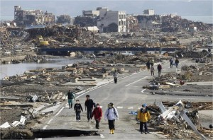 Japan Tsunami Devastation 2011