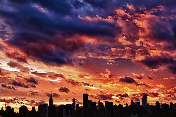 New York Sunset August 29 2011