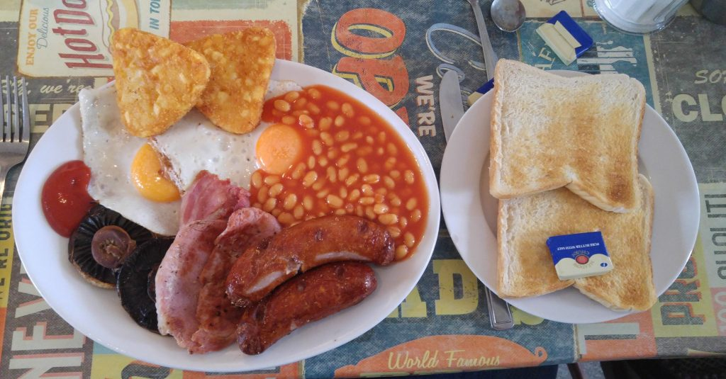 Start with a Big Breakfast